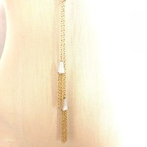 NEW‼️CharmingCharlie gold+silver necklace+earrings